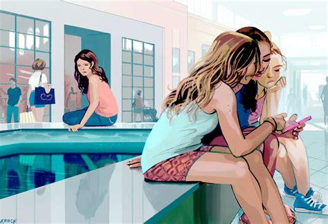 talking to my teen age girl animatedgif 1100x756